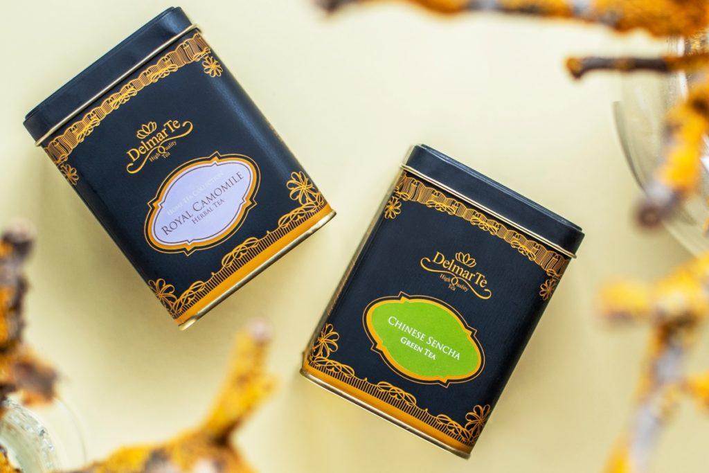delmarte-high-quality-tea-chinese-sencha-green-tea-royal-chamomile-herbal-tea